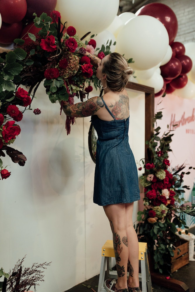 Melbourne Wedding Florist Raven and the Rose