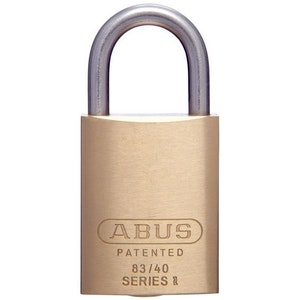 ABUS Brass Padlock -Stainless Steel Shackle  83IB/40 KD