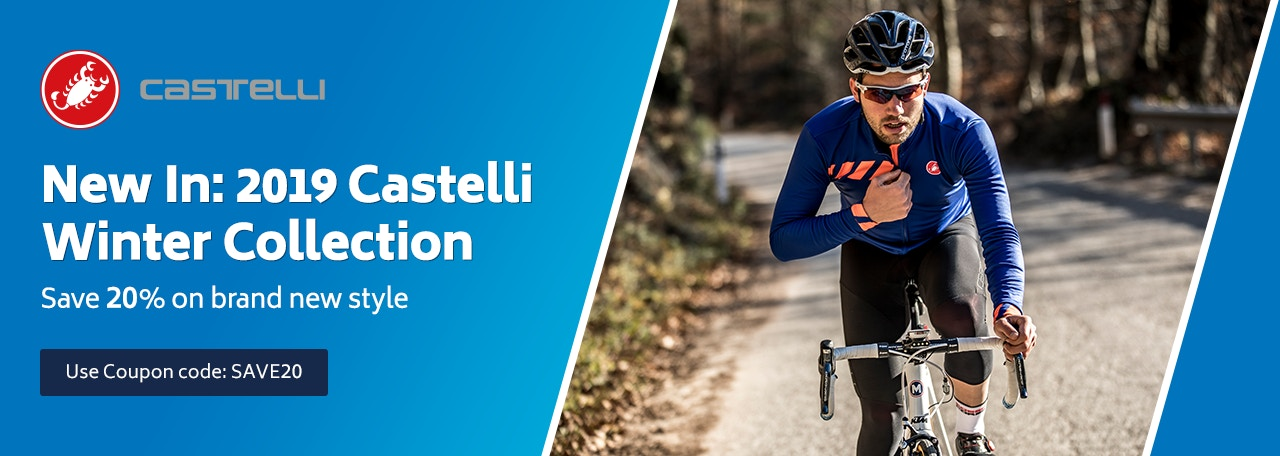New In: 2019 Castelli Winter Collection