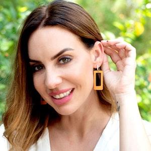 Oblong Earrings