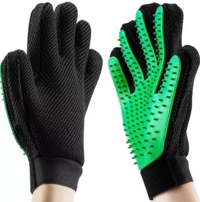 Green Grooming Glove | Daniel's Pet Emporium