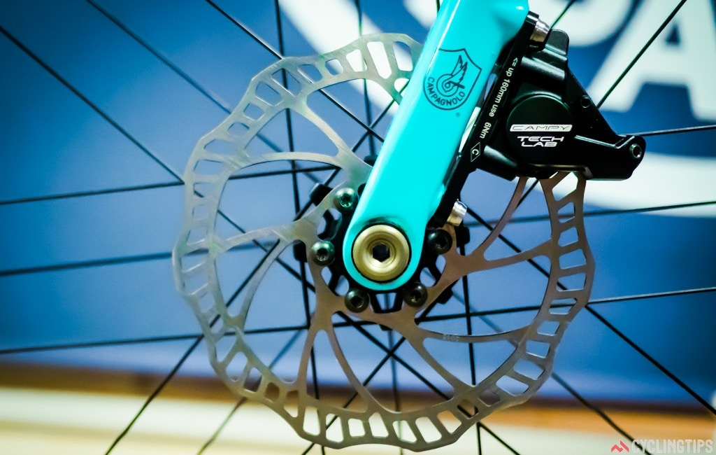 Campagnolo unveils disc brake prototypes