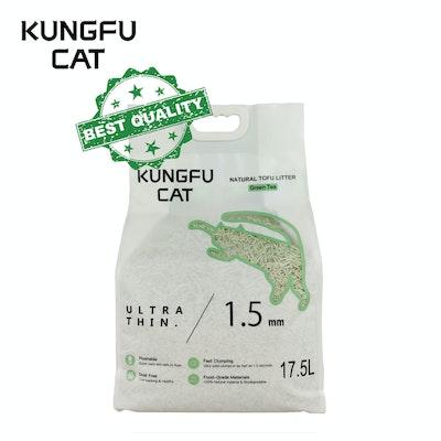 Kungfu CAT Tofu Litter Green Tea 17.5L