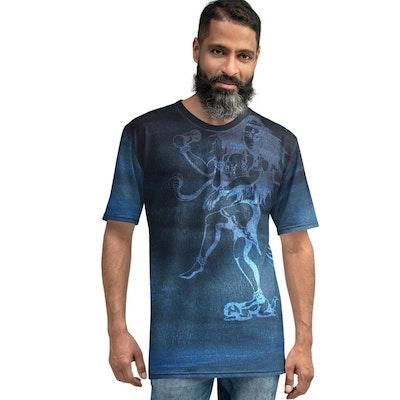 Yoga Pants Store Lord Shiva Men's T Shirt