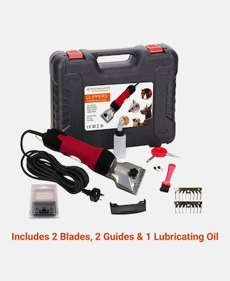 Pet & Livestock HQ New 350W Electric Horse Clipper Grooming Shears