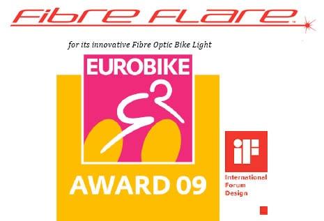 Australian Company FibreFlare Wins Eurobike Award 2009