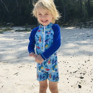 TicTasTogs Adventure Sunsuit | Kool Koalas