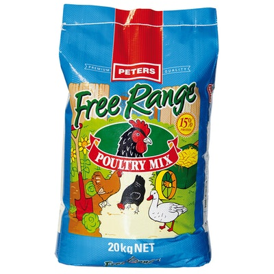 Peters Premium Quality Free Range Poultry Mix 20kg