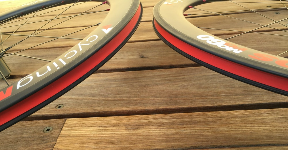 MoFo Cycling Wheelset BikeExchange Rim tape 1
