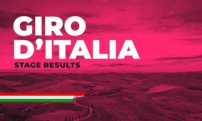 Giro d'Italia 2020: Stage Ten Race Recap