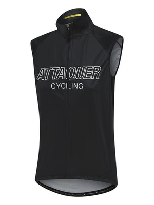 Attaquer Womens All Day Outliner Gilet Black