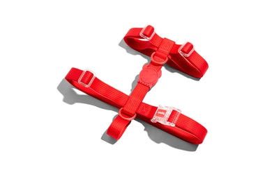 Zee Dog Neopro Adjustable Soft Dog H Harness Coral Red - 4 Sizes