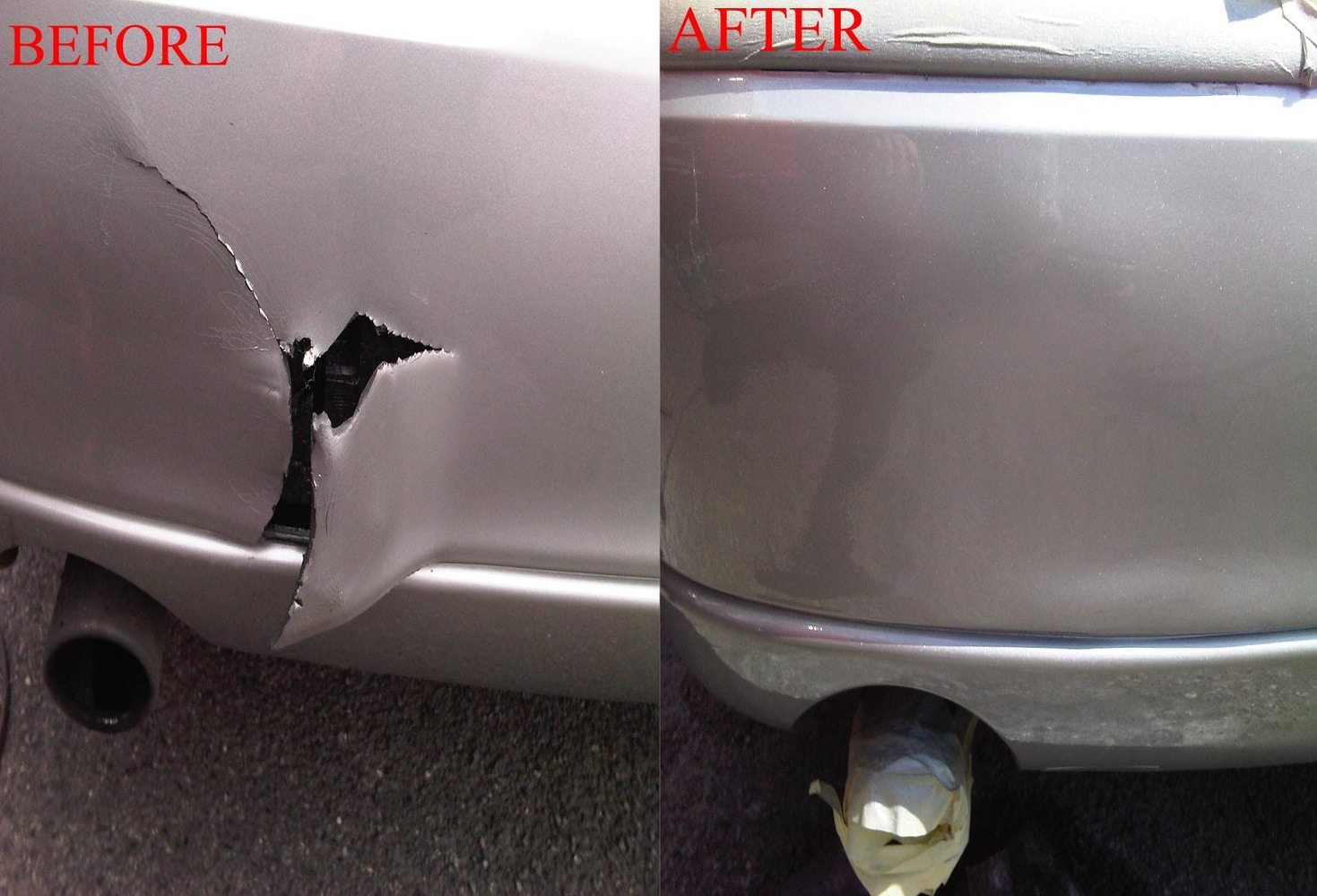 How To Fix A Cracked Bumper