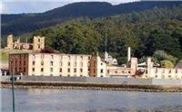 Port Arthur prison with hospital in the background