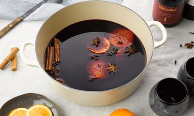 Slow Cooked Mulled Wine Recipe