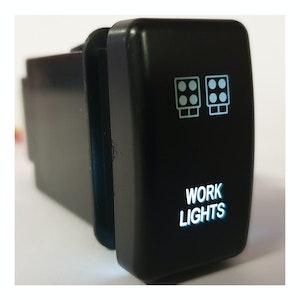 Ford Ranger / Mazda BT50 Work Light Switch White Back Light