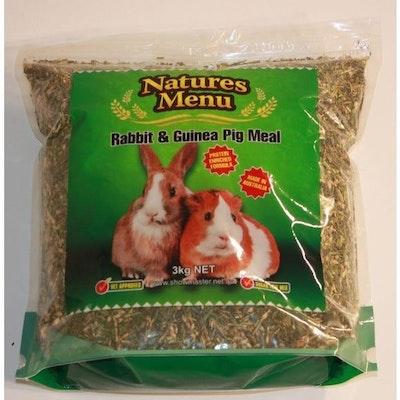Natures Menu Rabbit & Guinea Pig Meal 3kg