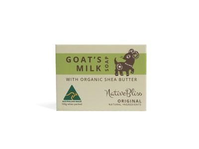 KidsBliss Goat's Milk Soap - Shea Butter - Original 100g
