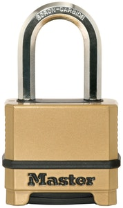 Master Lock M175EURDLF 56mm Wide Excell Zinc Body Padlock with 30mm Shackle