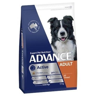 Advance Dry Dog Food Active 13kg