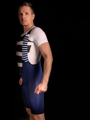 TIC CC Ride bib shorts Mens Midnight blue