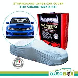 Car Cover Stormguard Waterproof Subaru WRX- Sti All Up To 4.74M Bumper to Bumper