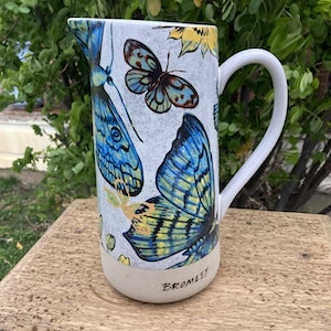 Bromley butterfly jug
