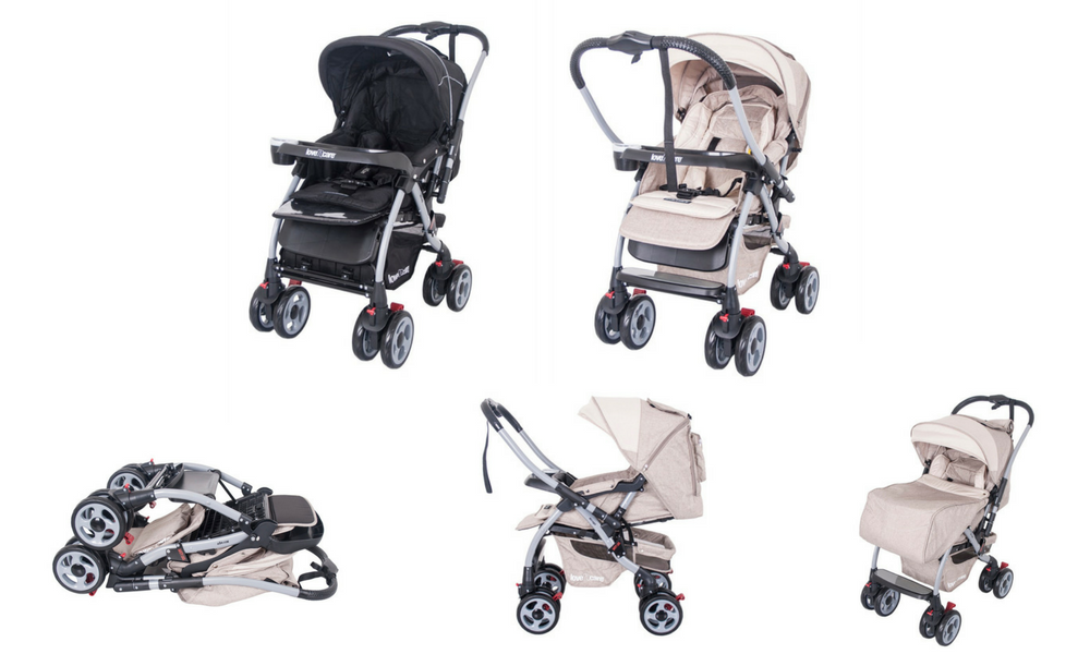 myer-market-pram-stroller-buying-guide-love-n-care-mirage-carriage-pink-black-png