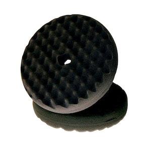 Buff Pad Black Polishing 6'' Quick Connect