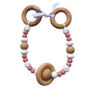 Cheeky Toes™ Cheeky RATTLE Pram Garland I Vintage Rose