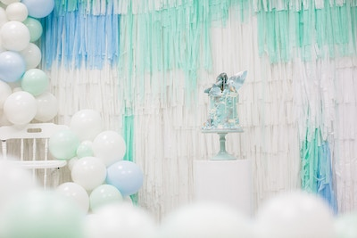 OLIVER'S PASTEL MINT 1ST BIRTHDAY