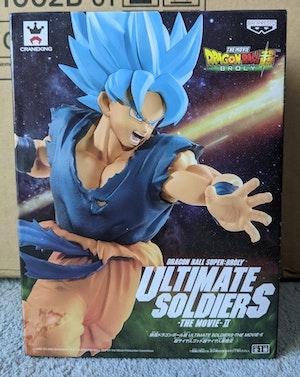Dragon Ball Super: Broly - SSB Super Saiyan Blue Goku Ultimate Soldiers - The Movie II Figure