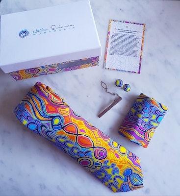 Native Swimwear Australia Pty Ltd Mina Mina 100% Pure Silk Tie Gift Kit