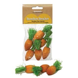 Rosewood® Woodies Play Carrots 6 pks