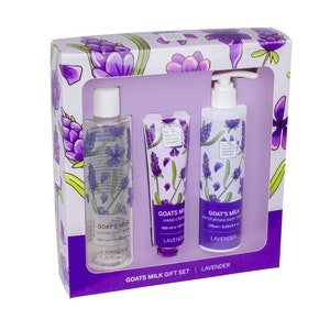 The Australian Cosmetics Company Goats Milk Lavender Trio Set