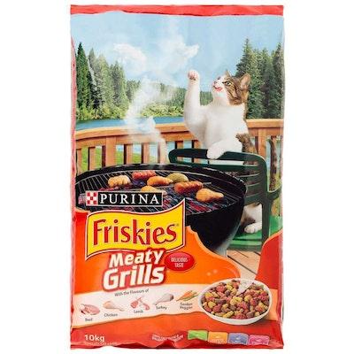 Friskies Meaty Grills Cat Dry Food - 2 Sizes