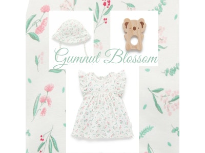 On Chic Baby Clothes On Chic Baby Gumnut Blossom Gift Set - 0-3 Months