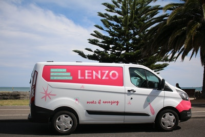 LENZO'S 7TH MEMBER: OUR FORD TRANSIT CUSTOM