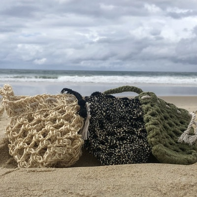 Chauffe-Moi Australia Handmade Hemp, Sisal & Organic Cotton Soap Saver Set