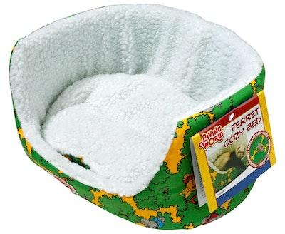 Living World Ferret Cozy Bed Green