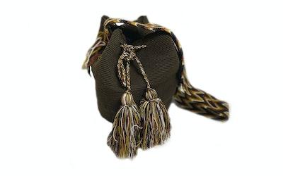 Continente Dorado Isashi Crossbody Bag-Brown