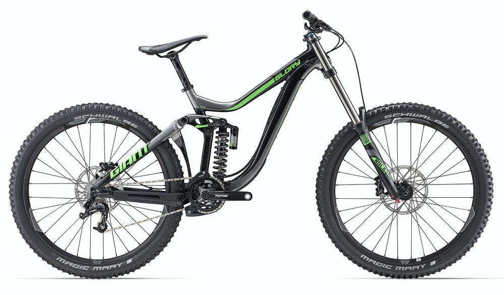 Giant Glory 2 Green BikeExchange 2017