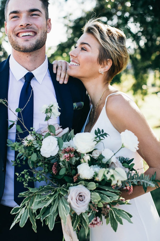 LENZO Wedding Happy Couple Figtree Photos Byron Bay