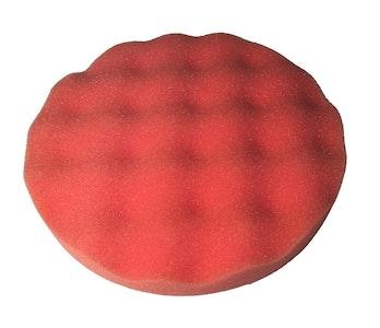 190mm x 28mm GRP Waffle Foam Velcro Pad Orange