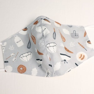 Reusable Cotton Face Mask made from Korean fabric (Child/Adult) - Camping Cook