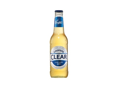 Coopers Clear Low Carb Bottle 355mL