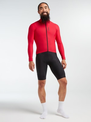 Black Sheep Cycling Men's Elements LS Thermal Jersey - Jester Red