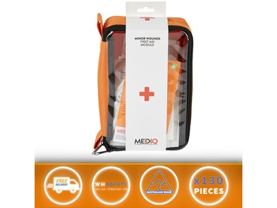 WH Safe Mediq First Aid kit Minor Wounds Incident Ready Module