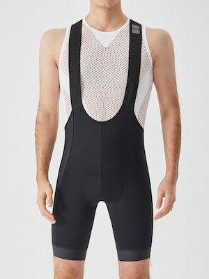 Soomom Men's Essential Cycling Bib Shorts - Black