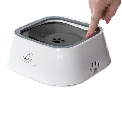 All Fur You Anti Splash Dog Water Bowl Anti Spill Bowl - 2 Colours